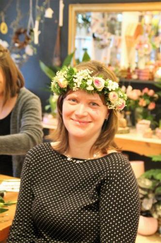 Blumenkranz binden-6